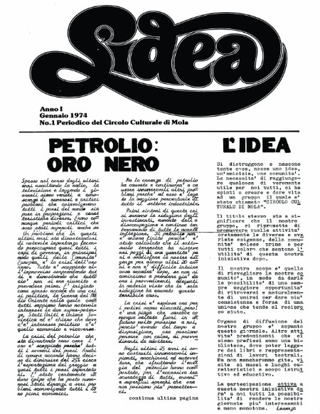 COVER OF lidea newspaper
