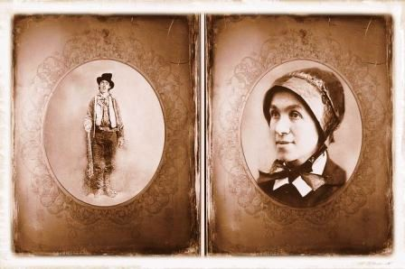 Billy the Kid and Rosa Maria Segale