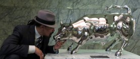 The Charging Bull by Arturo Di Modica is now a film