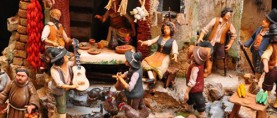 At the Italian American Museum, Presepio Napoletano