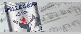 S.Pellegrino pays tribute to the unforgettable Maestro Luciano Pavarotti