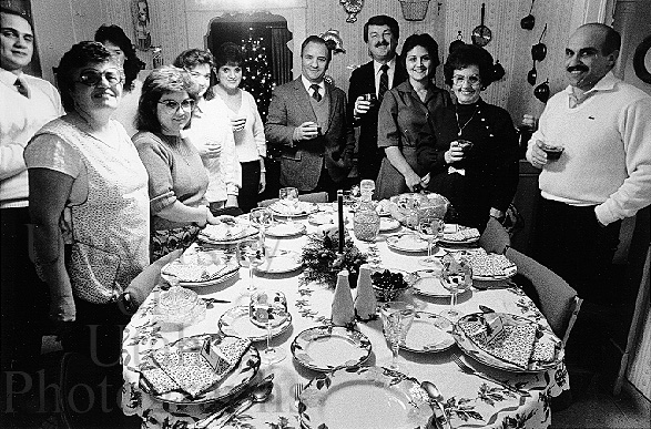 Christmas Dinners Italian Americans And Etiquette L