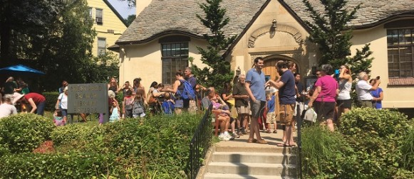 Eclipse event at the Crestwood Library in Yonkers occasion for socializing…