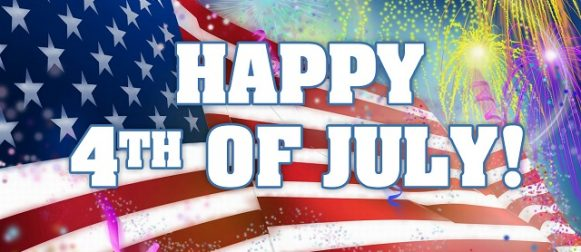 Happy Fourth of July to all our readers!!!