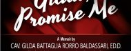 Gilda's Promise to the Pope  starts a life of achievements. Book review of Gilda, Promise Me