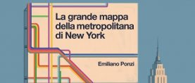 Emiliano Ponzi, The Great New York Subway Map – La Grande Mappa della Metropolitana di New York.
