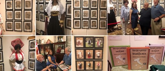 Regions of Italy seen through portraits, costumes and biographies at the Garibaldi Meucci Museum!